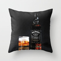 On Ice Throw Pillow by Captive Images Photography | Society6