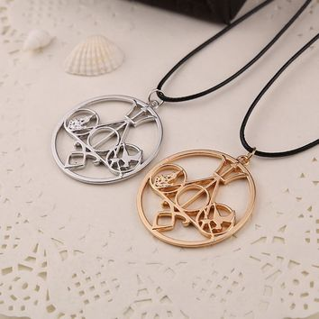 Fashion Necklace With Mortal Instruments Movies Diverge Percy Jackson Hunger Games Divergence Necklace
