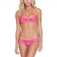 Luli Fama Push Up Top - Sunset Angel