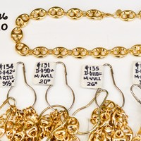 (PDF-GF-LINK-133-136) PDF Gold Filled Chains, #133 - 136