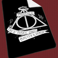 Deathly Hallows Harry Potter for Kids Blanket, Fleece Blanket Cute and Awesome Blanket for your bedding, Blanket fleece*NS*