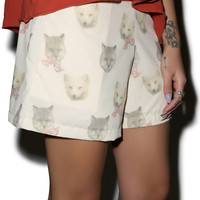 Hamlet Stay Foxy Shorts Peach Small