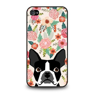 BOSTON TERRIER DOG BREED iPhone 4 / 4S Case Cover