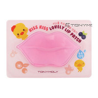 [TONYMOLY] Kiss Kiss Lovely Lip Patch 1pcs / Hydro gel type Lip sheet pack