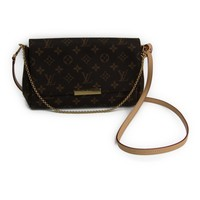 Louis Vuitton Monogram Favorite MM M40718 Women's Shoulder Bag Monogram BF314592