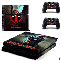 PS4 Deadpool Protective Skin