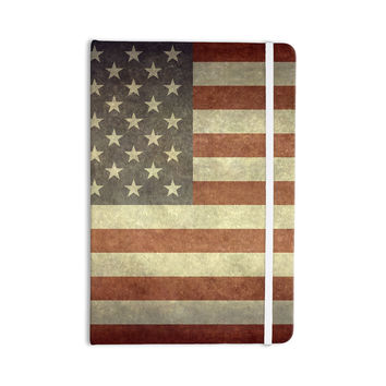 "Bruce Stanfield ""Flag of US Retro"" Rustic Everything Notebook"