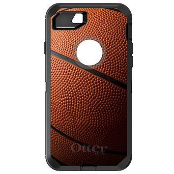 DistinctInk™ OtterBox Defender Series Case for Apple iPhone / Samsung Galaxy / Google Pixel - Basketball Photo