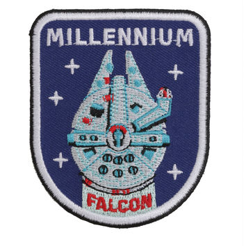 Star Wars Millennium Falcon Iron-On Patch