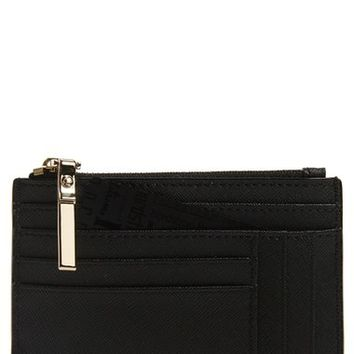 kate spade new york 'large cameron street' textured leather card holder | Nordstrom