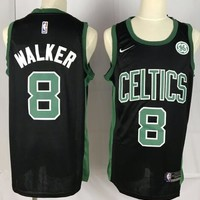 Nike Boston Celtics #8 Kemba Walker Jersey Black
