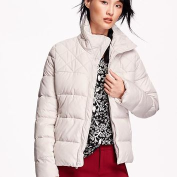 Old Navy Womens Frost Free Quilted Jacket