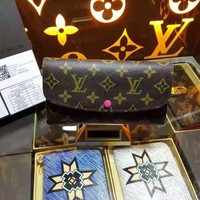 LV Louis Vuitton MONOGRAM CANVAS JOSEPHINE WALLET