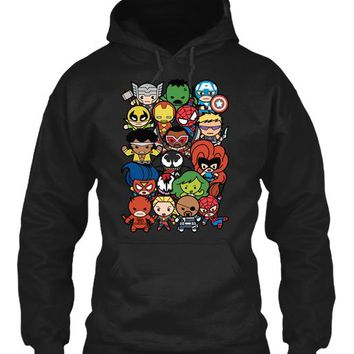 Marvel Cartoon Characters T Shirt