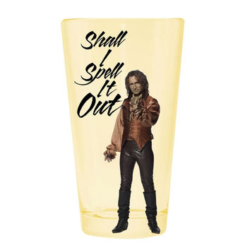Once Upon A Time - Spell It Out Pint Glass