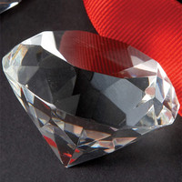 Diamond Cut Paperweights from Two's Company