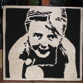 Custom Wood Portraits