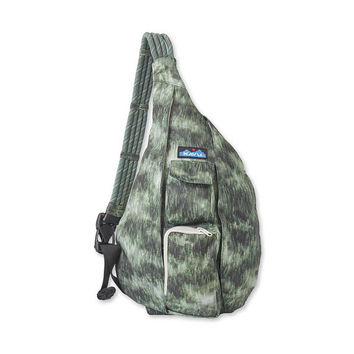 Monogrammed Kavu Rope Sling - Wilderness | Monogram Rope Bag | Gift for Her | Teens | Outdoors Satchel | Crossbody Tote