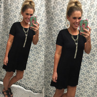 To a Tee Tunic: Black