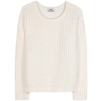 mytheresa.com -  Acne - SAPATA GRID KNIT PULLOVER  - Luxury Fashion for Women / Designer clothing, shoes, bags