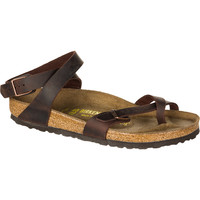 Birkenstock Yara Sandal - Women's Habana Oiled Leather,