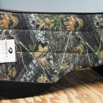 MOSSY OAK Camo Barrel Saddle Pads - MHC Barrel Pad