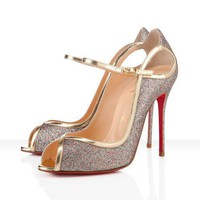 Christian Louboutin - 1en8 glitter, multicolor, mini glitter, special occasion, bridal, evening, womens shoes