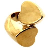 ROMWE | Double-Heart Shaped Ring, The Latest Street Fashion