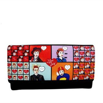 I love Lucy Collage Wallet