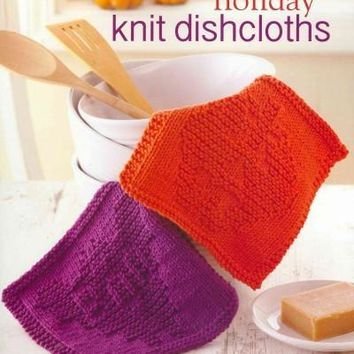 Holiday Knit Dishcloths