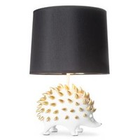 Hedgehog Figural Table Lamp (Includes CFL Bulb)