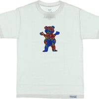 Grizzly Tropical High Tee Xxl white