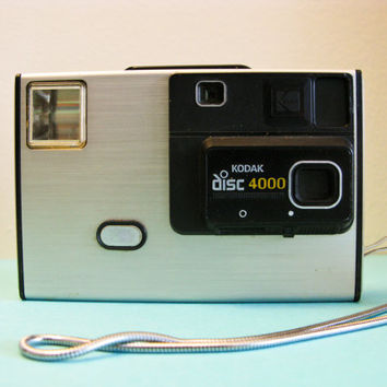 Vintage Kodak Disc Camera With Original Box by timepassagesshop