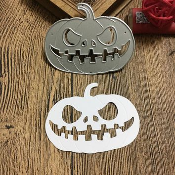 Halloween Pumpkin Metal Die Cutting Dies for Scrapbooking DIY Album Paper Card Making Stencil Die Cuts Template Handmade Crafts