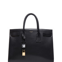 Large Sac De Jour Carryall Bag in Black