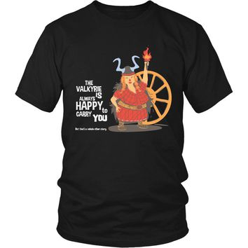 The Valkyrie Is Always Happy To Carry You T-Shirt