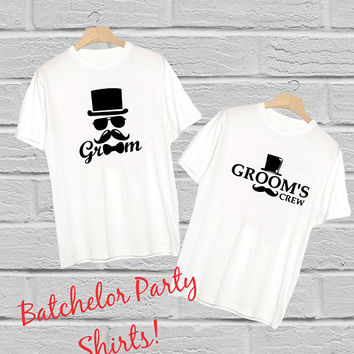 Groom's Crew Comfort Color Tees - Groomsmen Gift - Batchelor Party, Batchelor Weekend, Groom