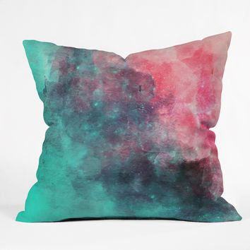 Allyson Johnson Cotton Candy Throw Pillow