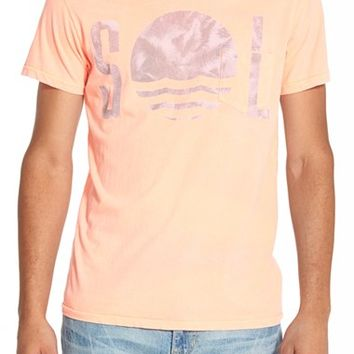 Men's Sol Angeles 'Palm Horizon' Pocket T-Shirt,