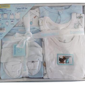Bambini 7 Piece Gift Box - Blue