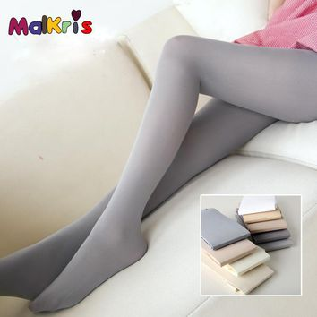 Women's Tights Sexy Fat Burning Varicose Veins Thin Leg Stocking Pantyhose Anti-off Silk Stockings Velvet Opaque Slim Silk Stock