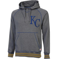 Kansas City Royals Stitches Brush Pullover Hoodie – Gray