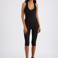 One And Done Racerback Capri Jumpsuit