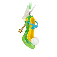 disney parks tinker bell shoe christmas ornament new with tag
