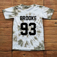 Ally Brooke Fifth Harmony Tie dye Shirt Tye Dye Shirt Black Shirt