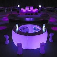 Vondom Fiesta illuminated outdoor bar, patio, outside - HomeInfatuation.com