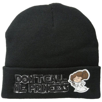 Star Wars - Don't Call Me Princess Cuff Knit Hat