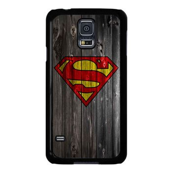Superman On Wood Helomolto 2 Samsung Galaxy S5 Case