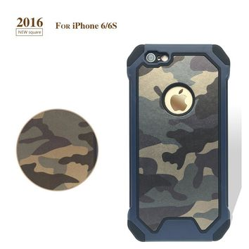 "Army Camo Camouflage Pattern  Apple Iphone 6 Plus 5.5"" Protective Phone Case For Iphone 6S Plus"