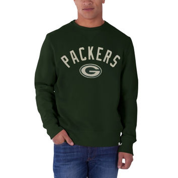 Green Bay Packers '47 Brand Cross Check Crew Sweatshirt – Green